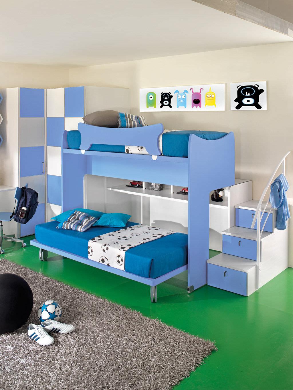Come scegliere la cameretta per i bambini in base allo spazio architetto arreda - Cameretta bimbo ikea ...