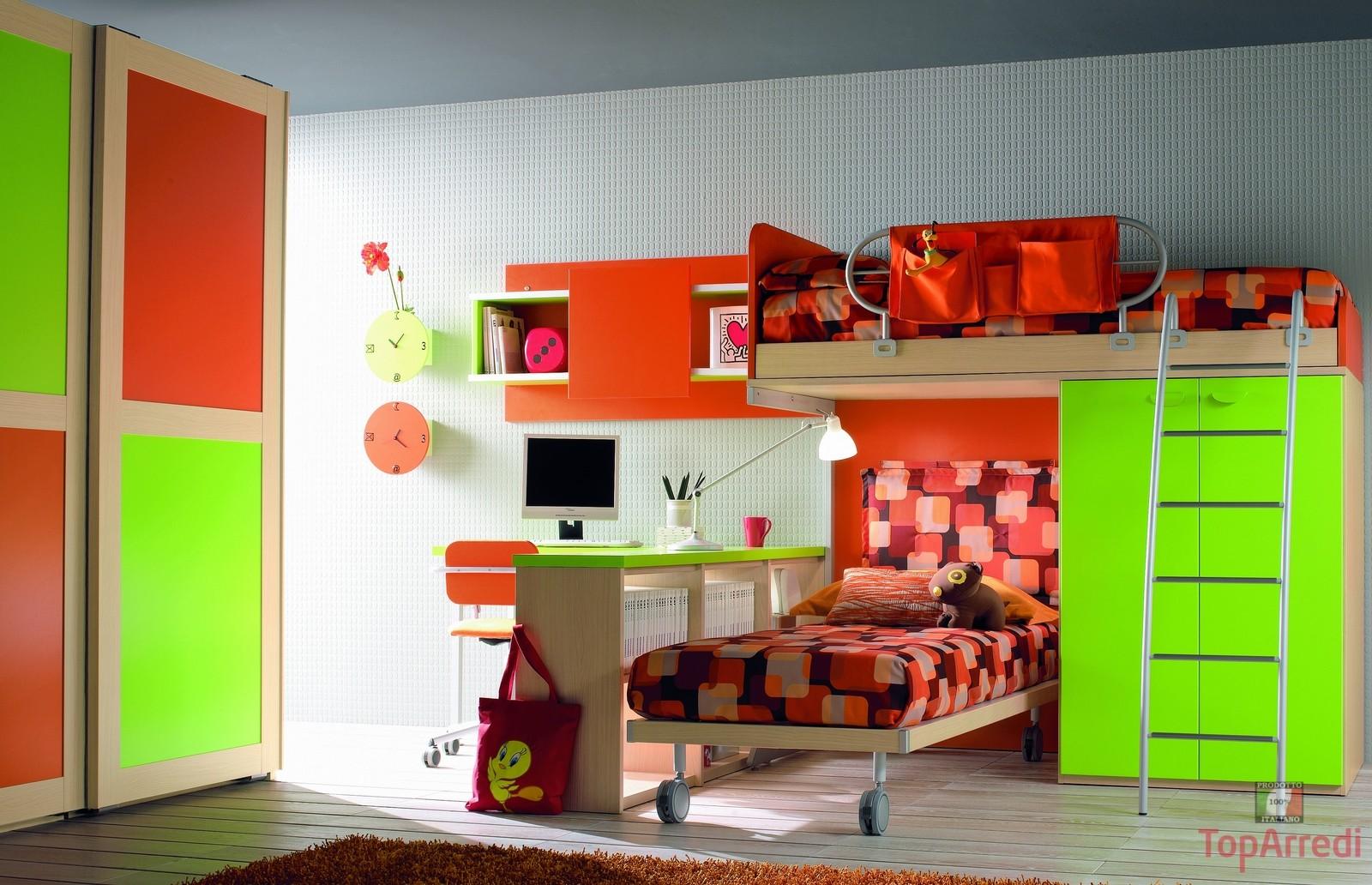 Come scegliere la cameretta per i bambini in base allo spazio architetto arreda - Cameretta per bambini ikea ...
