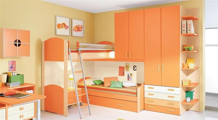 I colori della stanza dei bambini quando il design for Architetto arreda